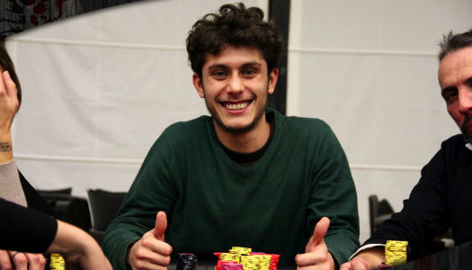 Matteo Cirillo chipleader only the barracudas special edition day1A