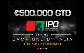 IPO 20 da 500.000€ GTD: qualificati su  Titanbet.it Poker